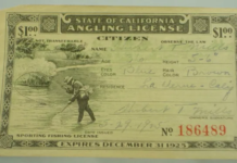 How much is a Fishing License in California